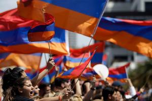 Ermenistan Cumhuriyeti bağımsızlığının 29. yıldönümünü kutluyor