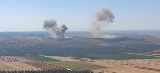 Системы Искандер ВС РФ уничтожили лагерь террористической группировки «Хаят Тахрир аш-Шам» в Идлибе
