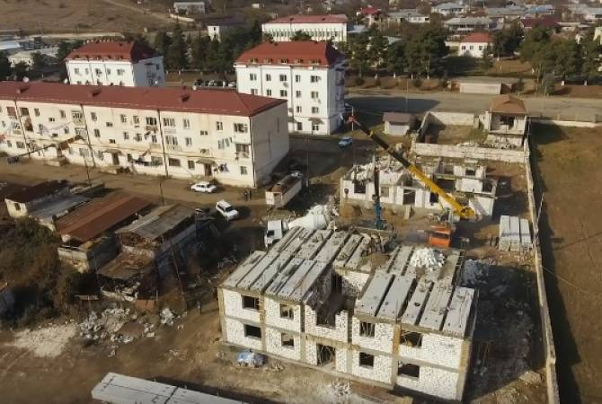 500 apartments planned to be built in Askeran regional center in 5 years