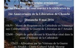 (Français) La célébration du 24e Anniversaira de la Libération de Chouchi