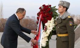 (Eastern Armenian) Սերգեյ Լավրովը ժամանեց Երեւան