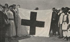 (Eastern Armenian) Մուսա լեռան ազատամարտի հաղթանակած դրոշը