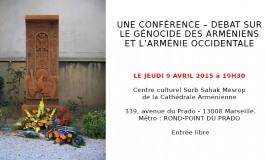 (Français) Une CONFÉRENCE – DEBAT sur Le génocide des Arméniens et l'Arménie Occidentale