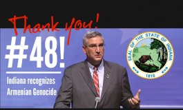 (English) Indiana Becomes 48th State to Recognize the Genocide of the Armenian people