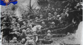 (Français) EN SOUVENIR DES VOLONTAIRES ARMÉNIENS DE LA LÉGION D'ORIENT AU SEIN DE L'ARMÉE FRANÇAISE MORTS SUR LE CHAMP D'HONNEUR