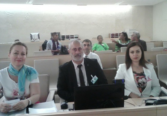 (English) The official delegation of Western Armenia during the 10th session of the Expert Mechanism on the Rights of Indigenous Peoples