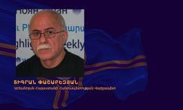 (Eastern Armenian) Արեւմտյան Հայաստանի Հանրապետության Կառավարության  6-րդ տարեդարձի կապակցությամբ