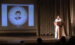 (Eastern Armenian) Լեոնիդ Ազգալդյանի անմահության 25–ամյակին նվիրված երեկոյում Վալոդիա Ավետիսյանի ելույթը։