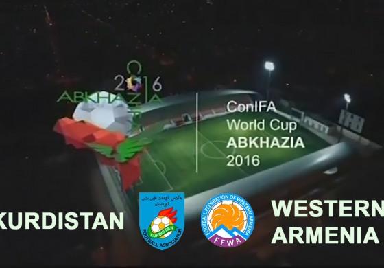 (English) ConIFA World Football Cup 2016. Kurdistan — Western Armenia