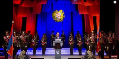 (Eastern Armenian) ՀՀ Պաշտպանության նախարար  Վիգեն Սարգսյանի ելույթը