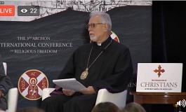 """Ermeni Başpiskopos: """"İncirilik havaalanı Ermeni topraklarında bulunuyor"""