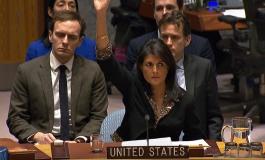 (Eastern Armenian) ԱՄՆ-ն վետո դրեց ՄԱԿ-ի Անվտանգության Խորհրդի Երուսաղեմին վերաբերող բանաձևի նախագծի վրա